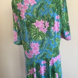 LuLaRoe Dresses - Lularoe floral print dress